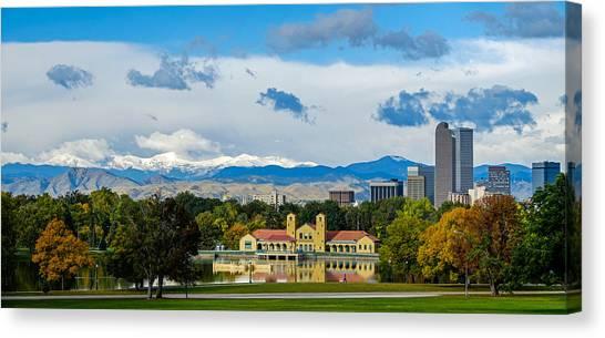Denver's City Park Canvas Print
