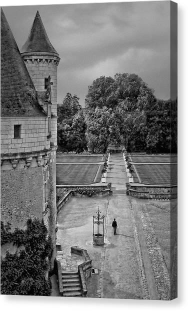 Chenonceau Castle Canvas Print - Departure - Chenonceau by Nikolyn McDonald