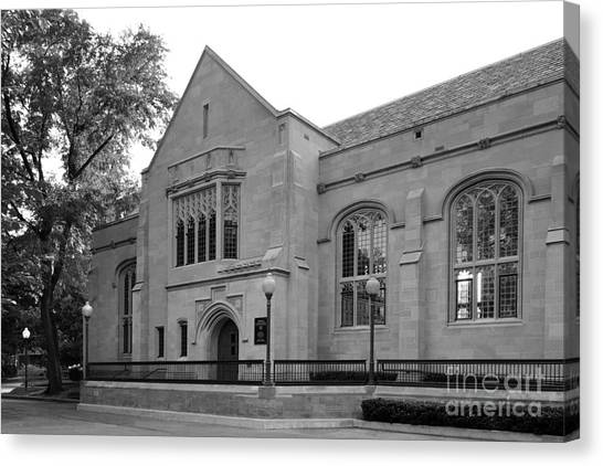 Depaul University Canvas Print - Depaul University Cortelyou Commons by University Icons