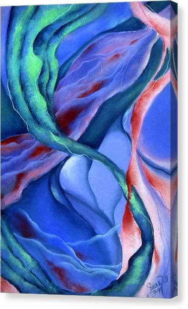 Depths Canvas Print