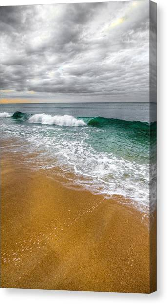 Coast Canvas Print - Desaturation by Chad Dutson