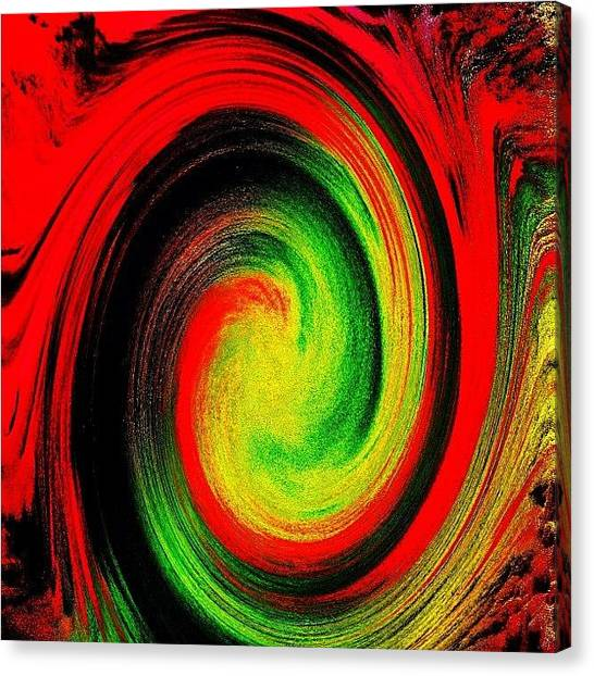 Psychology Canvas Print - Descent Into ... Your Own Dark Places by Urbane Alien