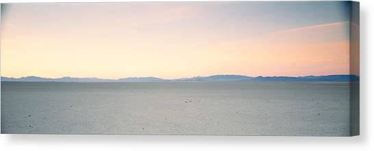 Black Rock Desert Canvas Print - Desert At Sunrise, Black Rock Desert by Panoramic Images