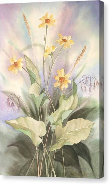 Desert Bouquet Canvas Print