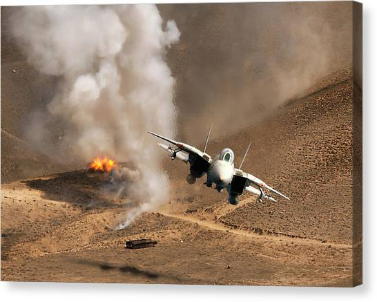Diamondback Canvas Print - Desert Diamondback by Peter Chilelli