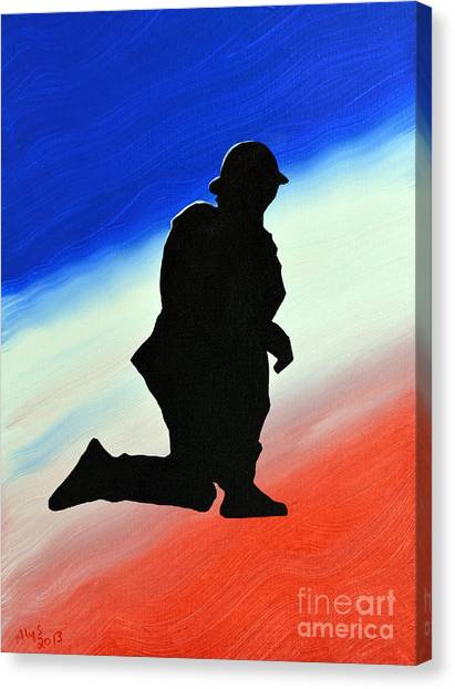 Desert Duty II Canvas Print