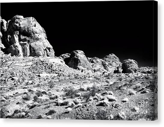 Desert Formation Canvas Print by John Rizzuto