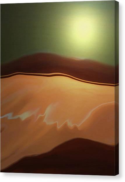 Desert Heat II Canvas Print