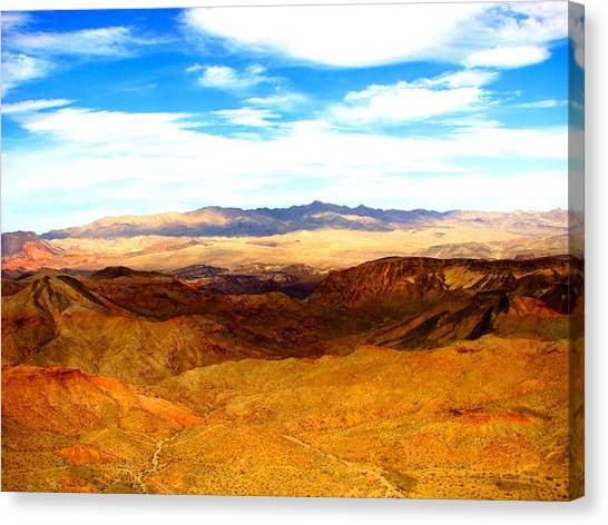 Grand Canyon Canvas Print - Desert Hills by Ray Dugan
