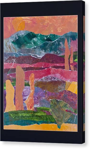 Desert In Spring Canvas Print