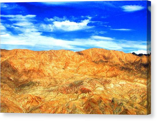 Grand Canyon Canvas Print - Desert Mountain by Ray Dugan
