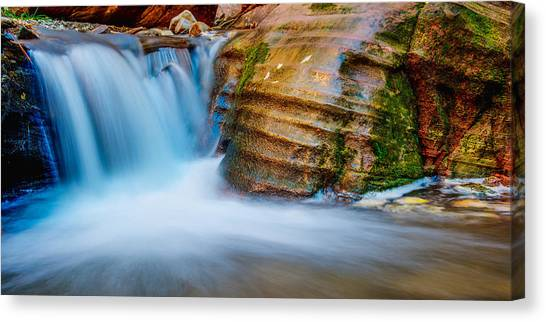 Oasis Canvas Print - Desert Oasis by Chad Dutson