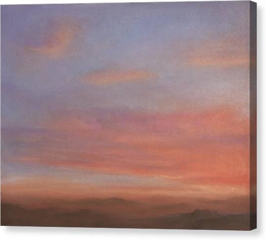 Desert Sky A Canvas Print