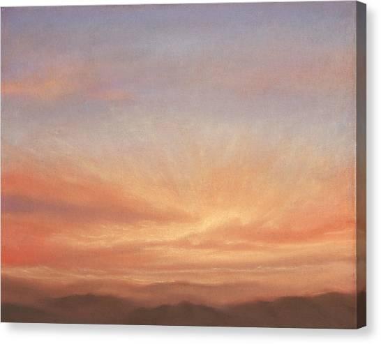 Desert Sky B Canvas Print