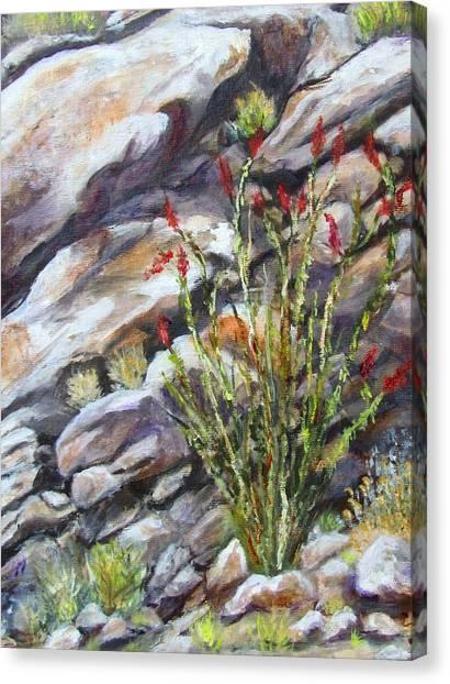 Desert Stillness Canvas Print by Caroline Owen-Doar