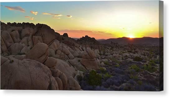 Desert Sunrises Canvas Print - Desert Sunrise by Naturae Sua