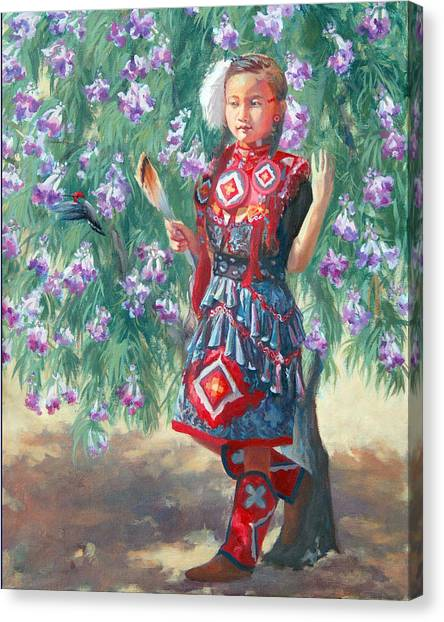 Desert Willow Canvas Print