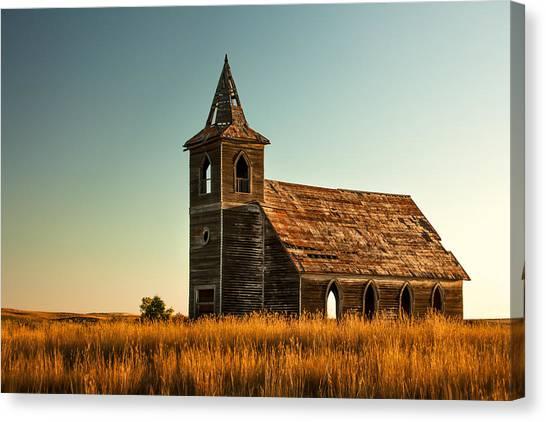 Deserted Devotion Canvas Print
