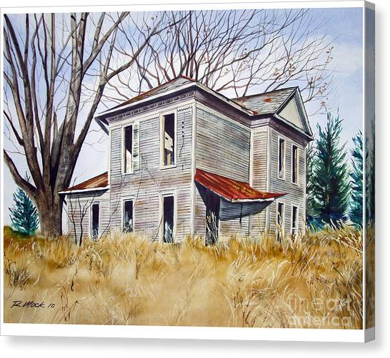 Deserted House  Canvas Print by Rick Mock
