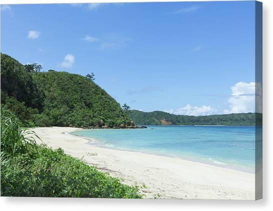 Deserted Tropical Island: Deserted Tropical Island Beach By Ippei Naoi