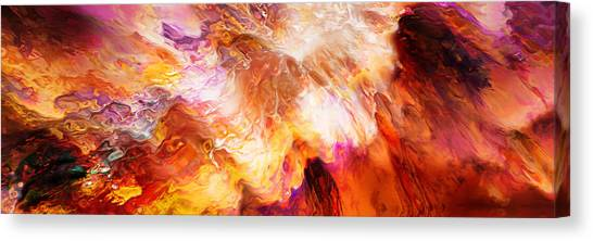 Print On Canvas Print - Desire - Abstract Art by Jaison Cianelli