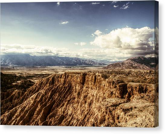 Canvas Print featuring the photograph Desolate And Beautiful by Jeremy McKay