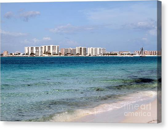 Destin Beaches Canvas Print