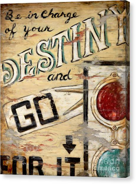 Destiny Canvas Print by Janet  Kruskamp