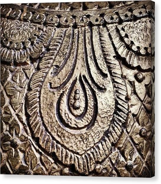 Art Deco Canvas Print - Detail by Bats AboutCats