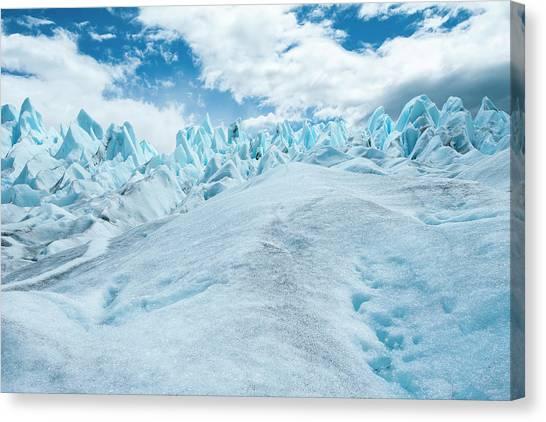 Perito Moreno Glacier Canvas Print - Detail Of Perito Moreno Glacier by James White