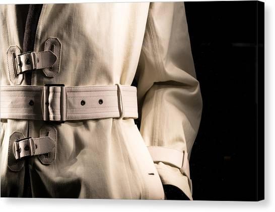 Nsa Canvas Print - Detective's Jacket  by Chay Bewley