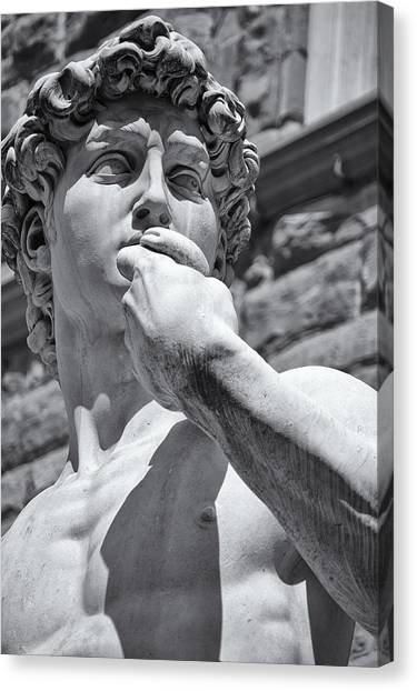 The Uffizi Gallery Canvas Print - Determination by Melany Sarafis