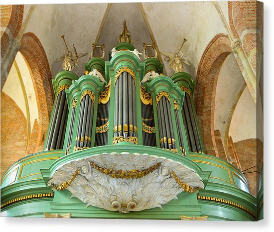 Deventer Organ Canvas Print