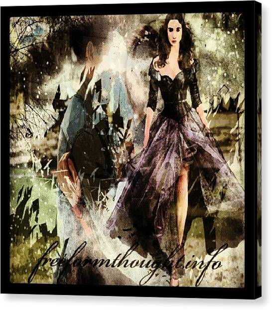Submission Canvas Print - #deviantart #beautifulcreatures by King Da Ling