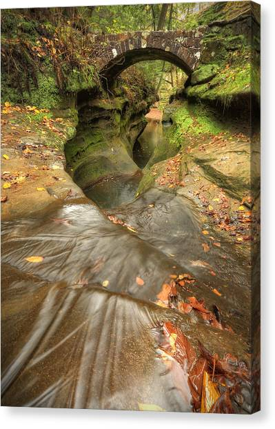 Devil's Bathtub Canvas Print