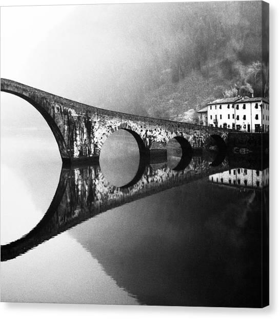 Devil's Bridge Canvas Print by Franco Maffei