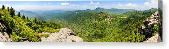 Pisgah National Forest Canvas Print - Devils Courthouse, Appalachian by Panoramic Images