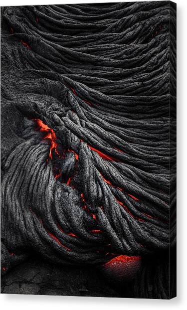 Lava Canvas Print - Devil's Eye by Jerrywangqian