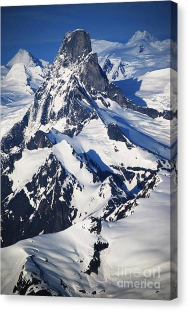 Devil's Thumb From The Air Canvas Print