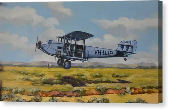 Dh Hercules 1929 Canvas Print