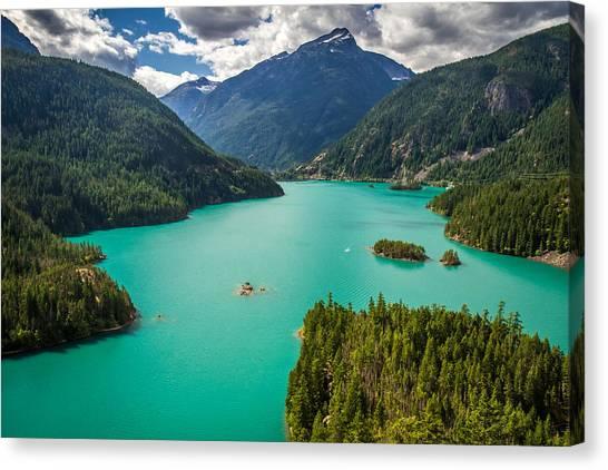 Diablo Lake  Canvas Print by Pierre Leclerc Photography