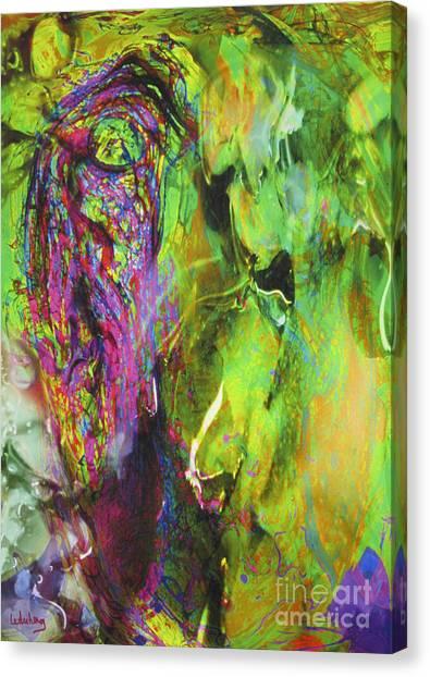 Dialogue 49 - Spring Romantic Canvas Print