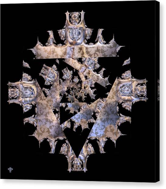 Diamond Crusted Canvas Print