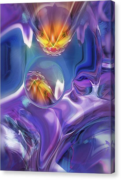 Diamond Dance Canvas Print
