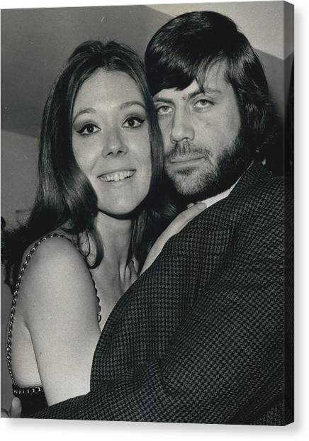 Diana Rigg And Oliver Reed To Star In Film �the Canvas Print by Retro Images Archive