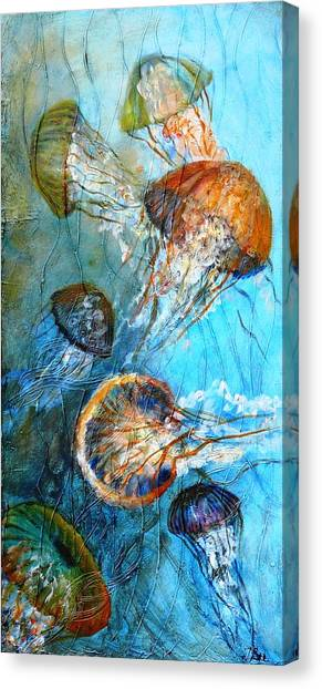 Diaphonouse Jellies-sold Canvas Print