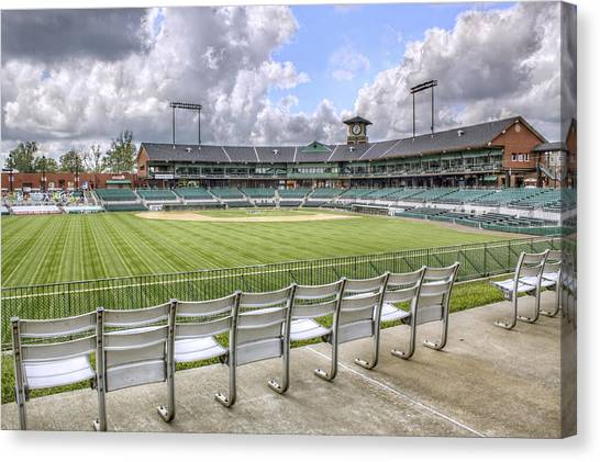 Dickey-stephens Park Canvas Print