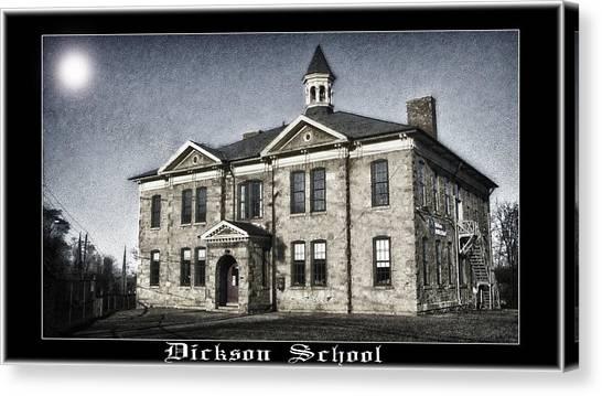 Dickson School Canvas Print