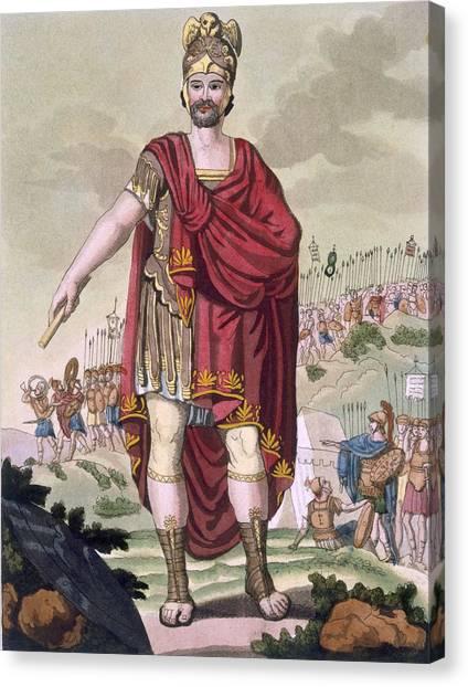 The Legion Canvas Print - Dictator, 1796 by Jacques Grasset de Saint-Sauveur