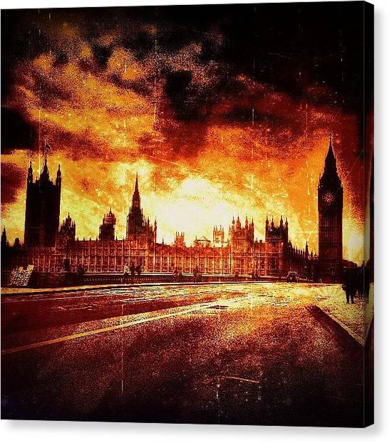 Bands Canvas Print - Different Style Of Editing by Chris Drake